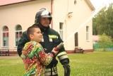 Огнеборцы пришли в гости в детский оздоровительный лагерь Раменского муниципального района