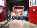 Пожарные ПЧ-254 и спасатели ПСО-14 (с) в Павловском Посаде принимали у себя в гостях школьников