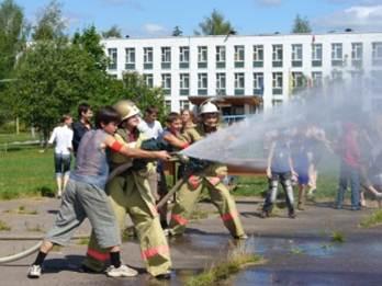 Профилактика пожаров в детских оздоровительных лагерях