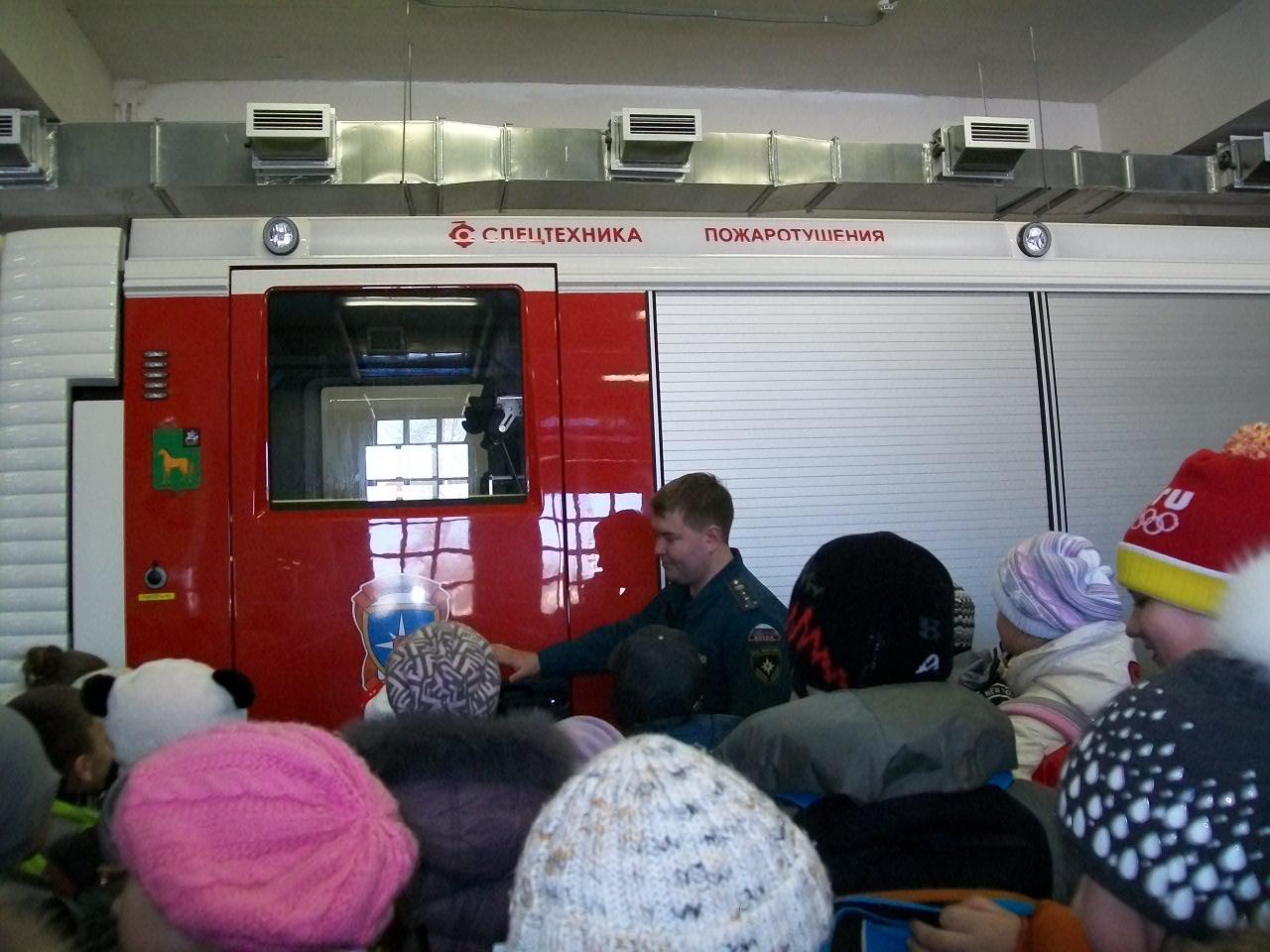 Работа пожарных глазами детей
