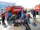 Работники ПЧ-338 и 220 Каширского территориального управления провели соревнования среди школьников