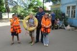 Подмосковные спасатели напомнили детям о правилах безопасности
