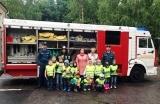 Воспитанники детского сада №2 посетили пожарную часть №4 Красногорского района
