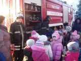 Пожарно-тактическое занятие в д/с «Ёлочка» Московской области