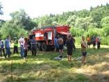 Пожарные и спасатели Ступинского территориального управления прияли участие в проведении молодежного образовательного форума «Хатунь 2014»