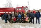 В гостях у Балашихинских пожарных побывали школьники
