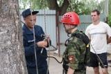 Спасатели ПСО-1 Можайского территориального управления провели занятие по альпинистской подготовке с воспитанниками военно-патриотического клуба «Факел»