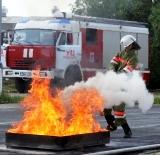 Сборная Мытищинского района стала победителем летнего первенства Московской области по пожарно-прикладному спорту среди юношей