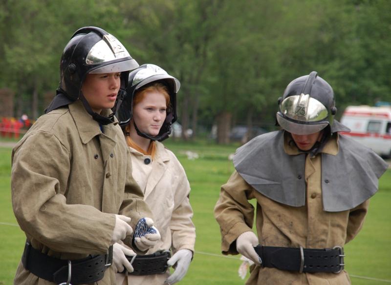 Побывать в боевой одежде пожарного