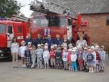 Сотрудники МЧС провели урок безопасности в детском саду