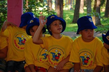 Сотрудники МЧС Раменского района знакомят детей с правилами пожарной безопасности