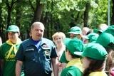 Глава МЧС Владимир Пучков поздравил детей подмосковного оздоровительного лагеря «Орленок» с Международным днем защиты детей