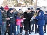 Занятие по пожарной безопасности в школе № 48 пос. Малаховка