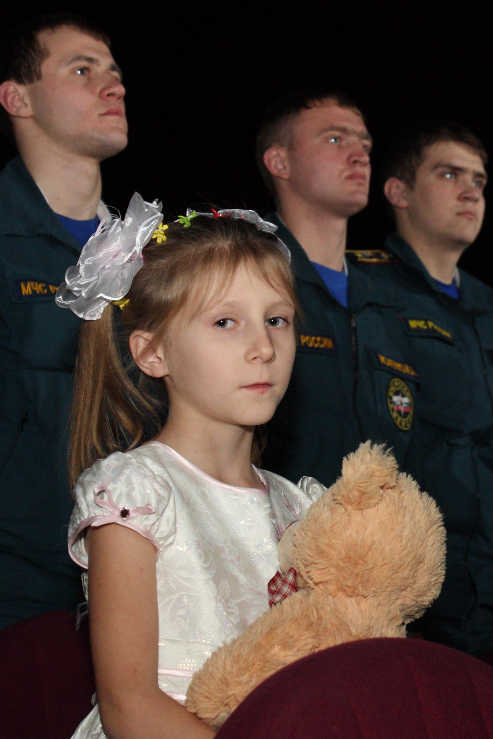 Маленькая героиня Подмосковья