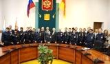 В администрации Ногинского муниципального района состоялось вручение удостоверений «Российского Союза Спасателей» юным спасателям г. Ногинска