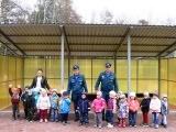 Огнеборцы Балашихинского района провели день пожарной безопасности в детском саду «Аленький цветочек»
