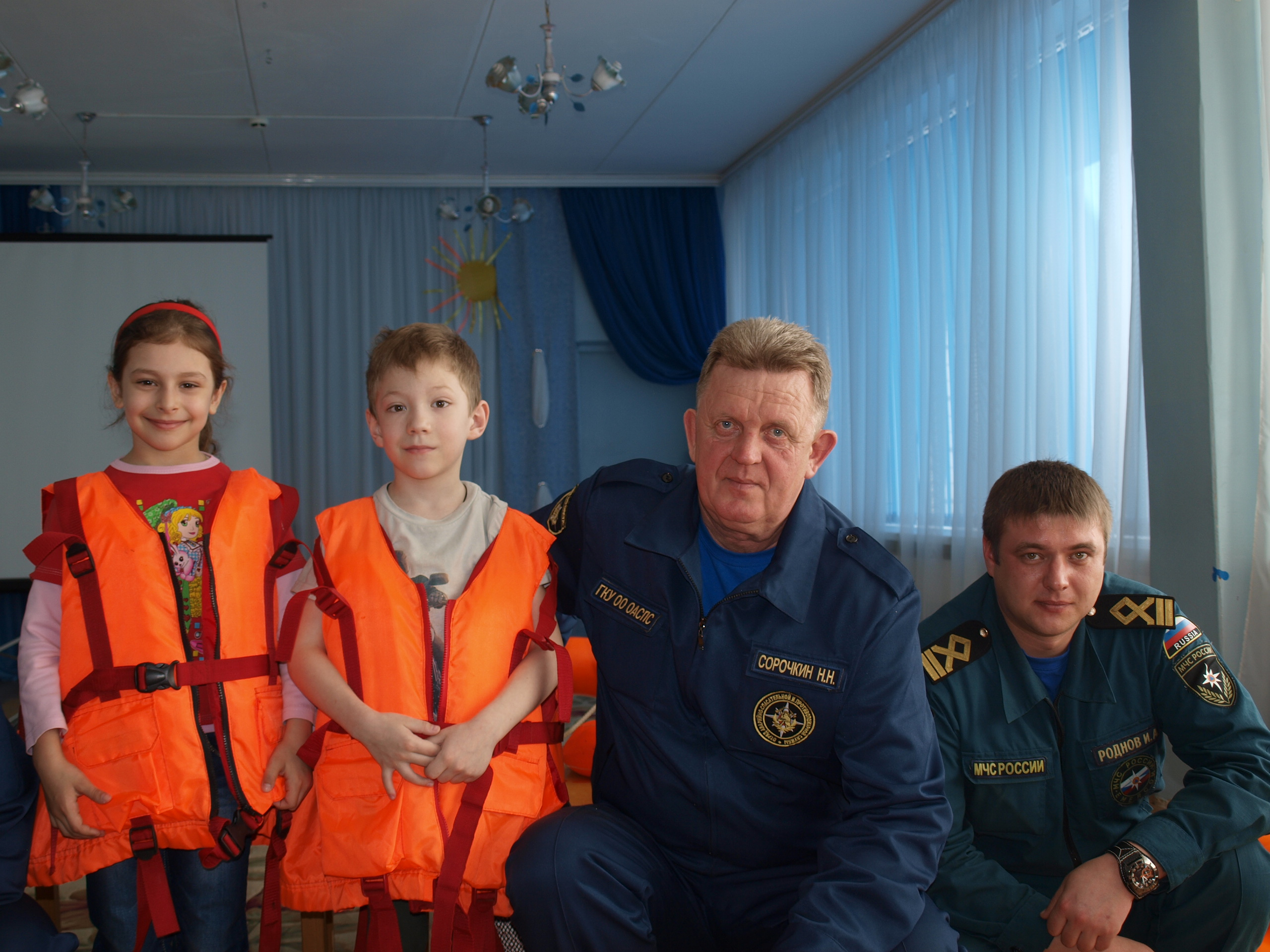 Акция для орловских малышей «На гребне волны!»