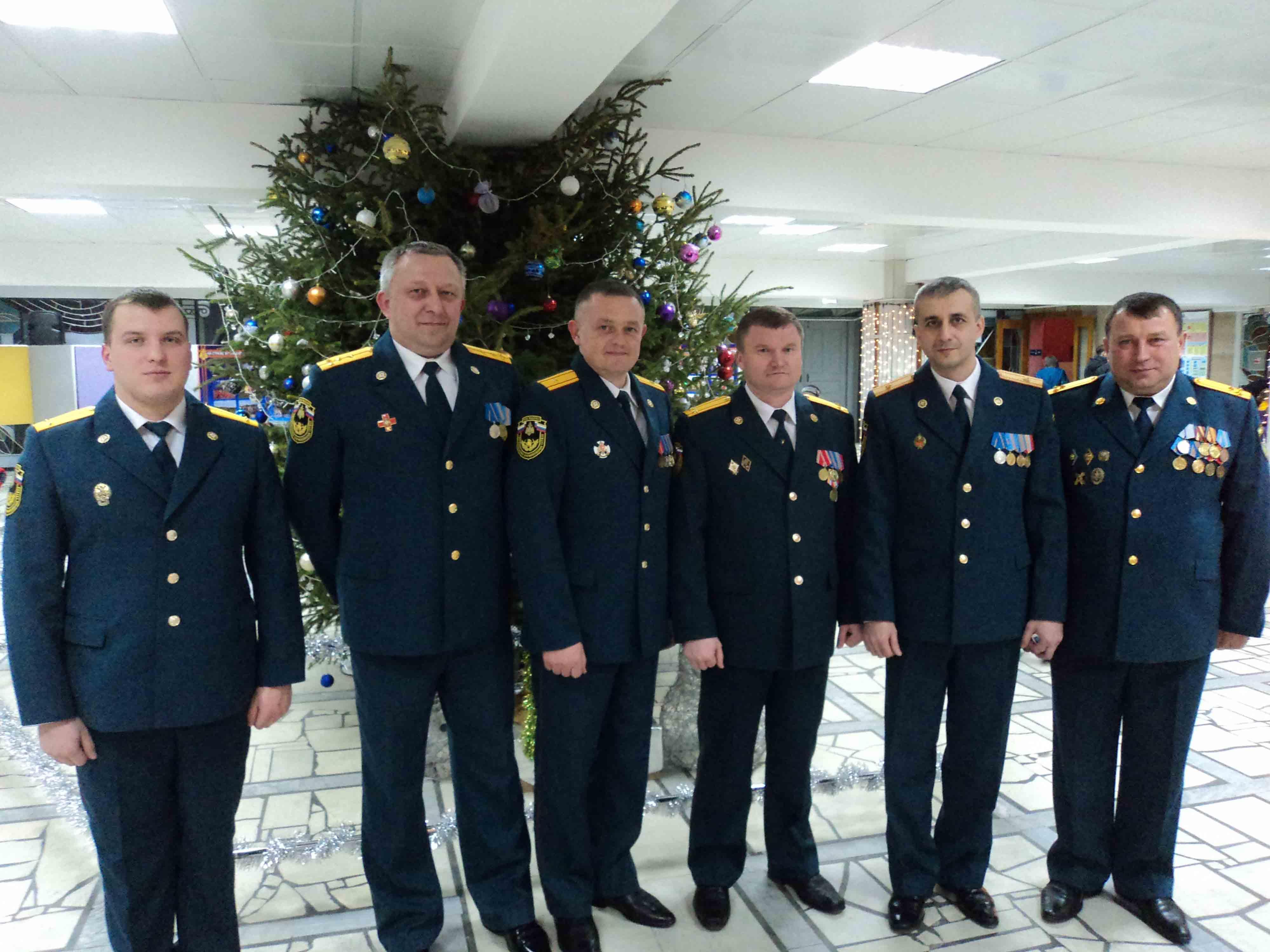 Торжественное собрание в честь Дня спасателя РФ