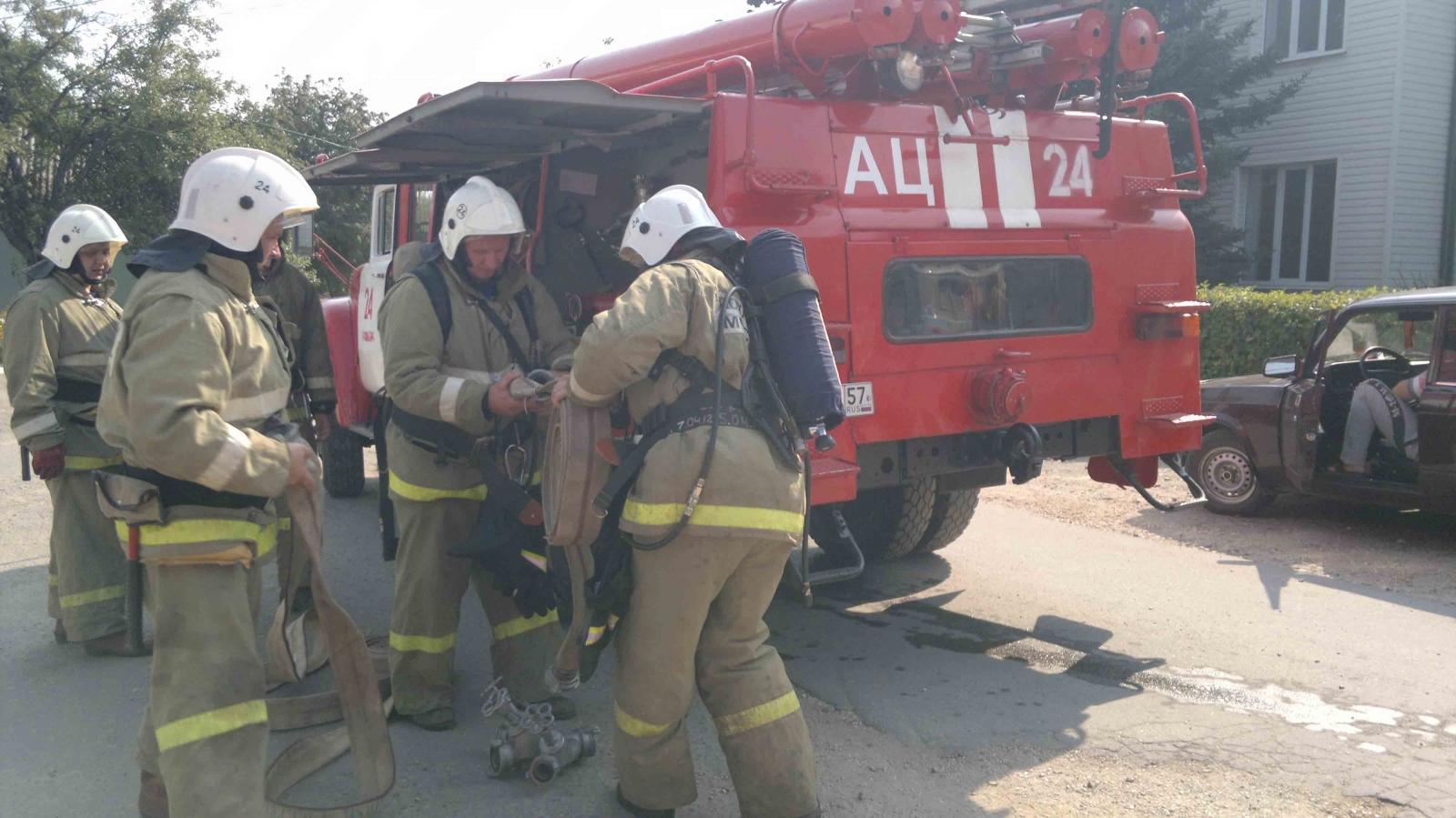 Краснозоренская районная больница – под защитой пожарных