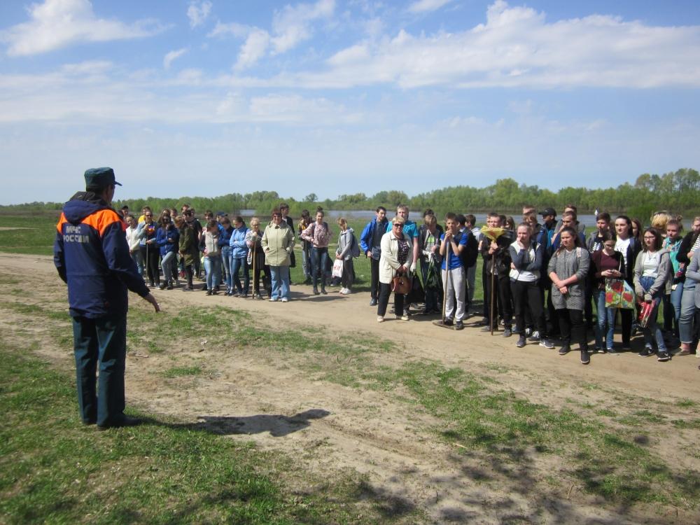 В Рязанской области в рамках Года экологии прошла акция «Чистый берег»