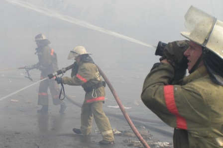 За прошедшую неделю пожарные подразделения Рязанской области принимали участие в тушении 20 пожаров