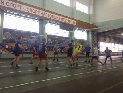 Завершились соревнования по волейболу среди структурных и подчиненных подразделений Главного управления МЧС России по Рязанской области