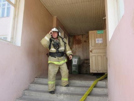 Тренировка по эвакуации в Клепиковской ЦРБ