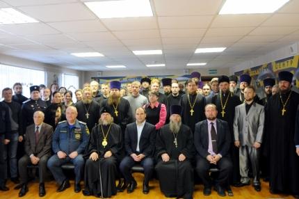 Рязанские священнослужители научились оказывать первую помощь при чрезвычайных ситуациях