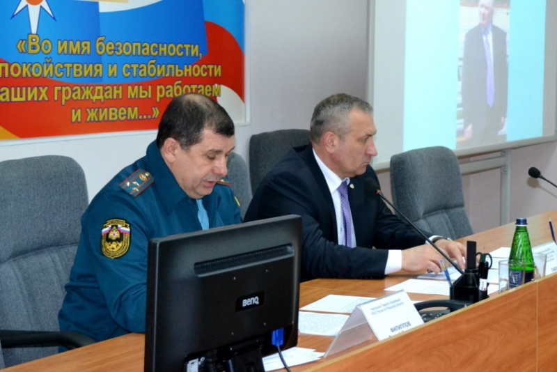 Совещание по вопросам развития пожарно-прикладного спорта в регионе