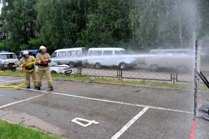В городе Рязани прошли областные соревнования среди подразделений добровольной пожарной охраны на звание «Лучшая добровольная пожарная команда».