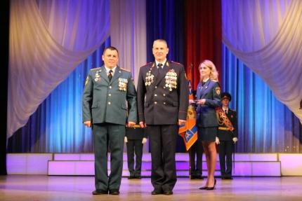 Торжественное мероприятие в честь Дня пожарной охраны России