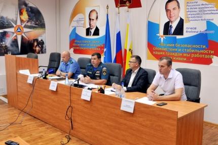 На совместной пресс-конференции в Главном управлении МЧС России по Рязанской области подвели промежуточные итоги пожароопасного периода