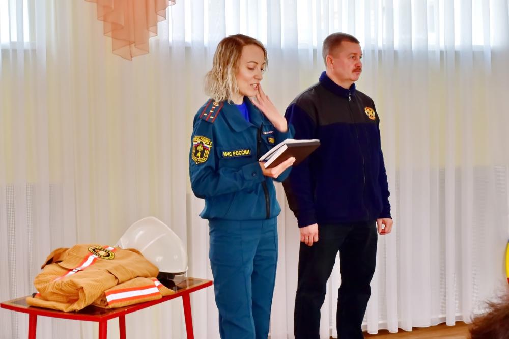 Урок безопасности в детском саду №124 города Рязани
