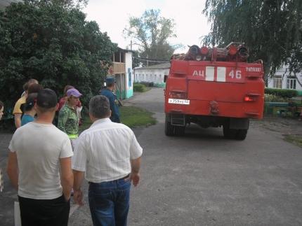 Практическая тренировка по эвакуации