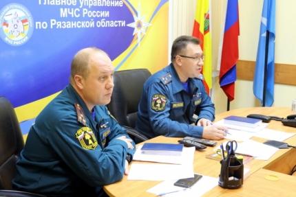 В Главном управлении МЧС России по Рязанской области прошел семинар-совещание по вопросам расследований преступлений, связанных с пожарами
