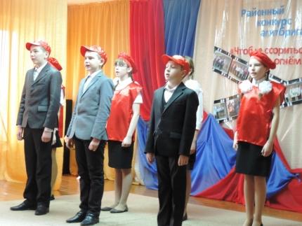 Учащиеся образовательных учреждений Путятинского района состязались в конкурсе агитационных бригад «Что б не ссориться с огнем»