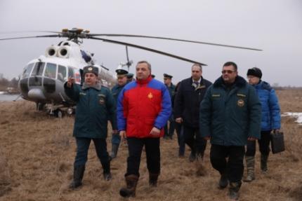 Владимир Пучков: «Паводковая обстановка в стране стабильная»