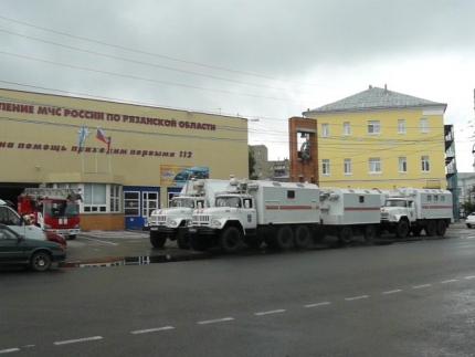 Рязанская область принимает участие в комплексной тренировке ЦРЦ МЧС России