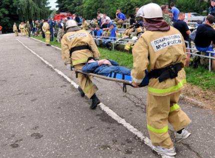 В Рязанской области по-прежнему актуальна работа добровольных пожарных команд