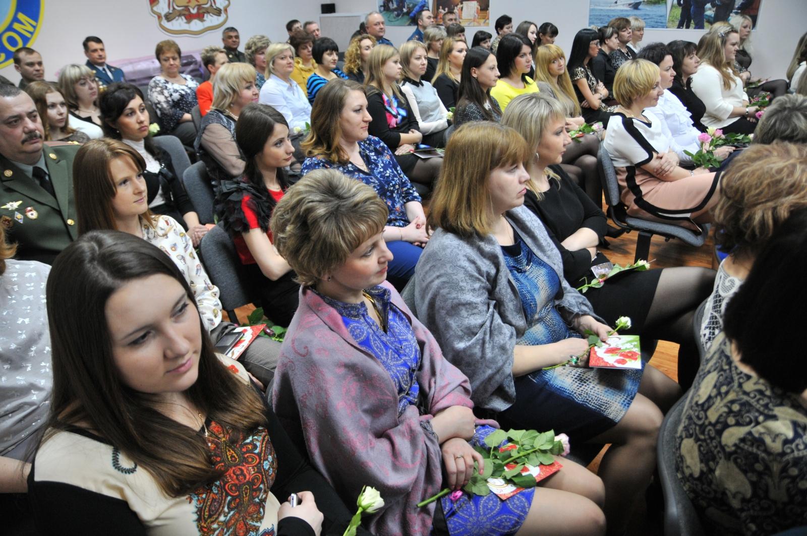 Торжественное мероприятие посвященное Международному женскому дню