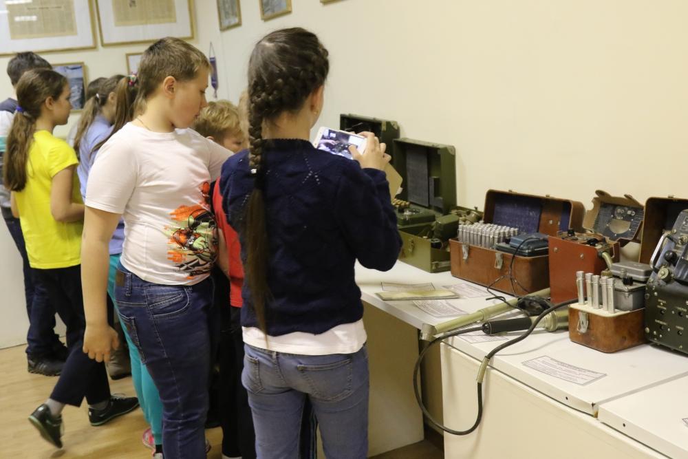 Информационно-профилактическая работа с детской аудиторией, посвященная Году гражданской обороны