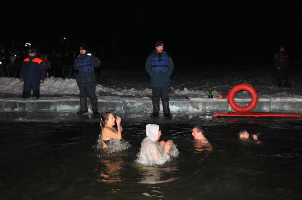 Обеспечение безопасности во время Крещения