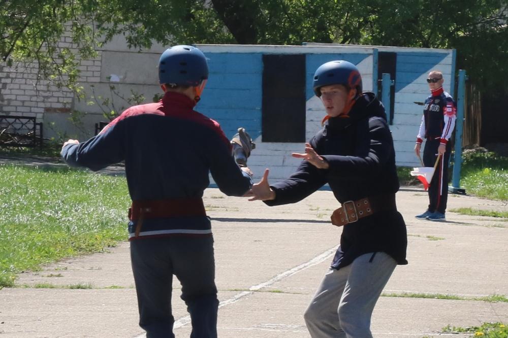 XXI областные соревнования «Школа безопасности»