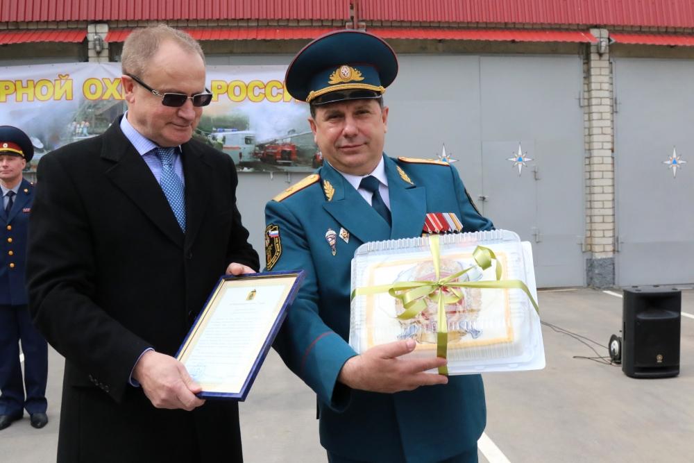 В преддверии Дня пожарной охраны России в Главном управлении МЧС России по Рязанской области состоялось торжественное мероприятие