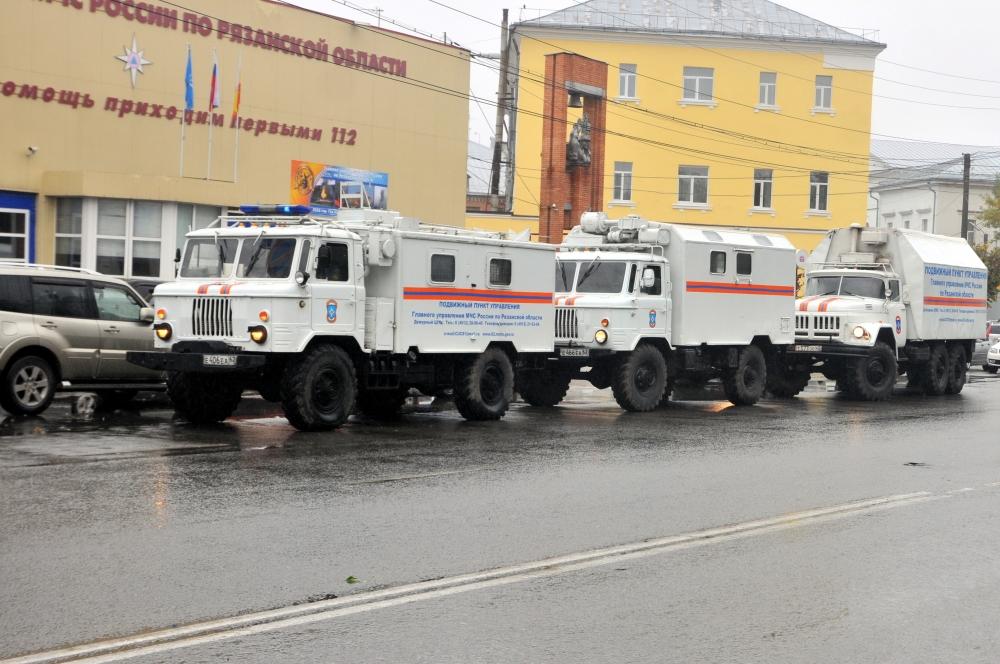 Главное управление МЧС России по Рязанской области принимает участие в совместной штабной тренировке ЦРЦ МЧС России