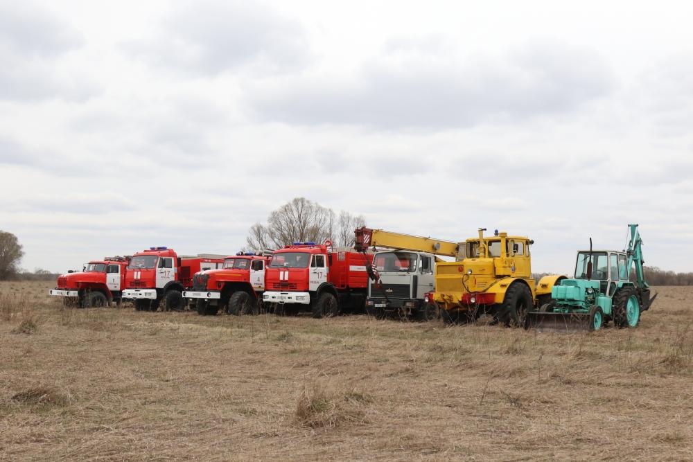 В течении трех дней силы и средства Рязанской области участвовали командно-штабном учении под руководством МЧС России