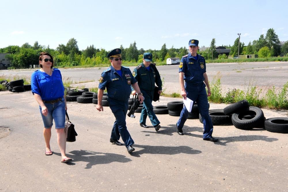 Авиаразведка пожароопасных районов Рязанской области
