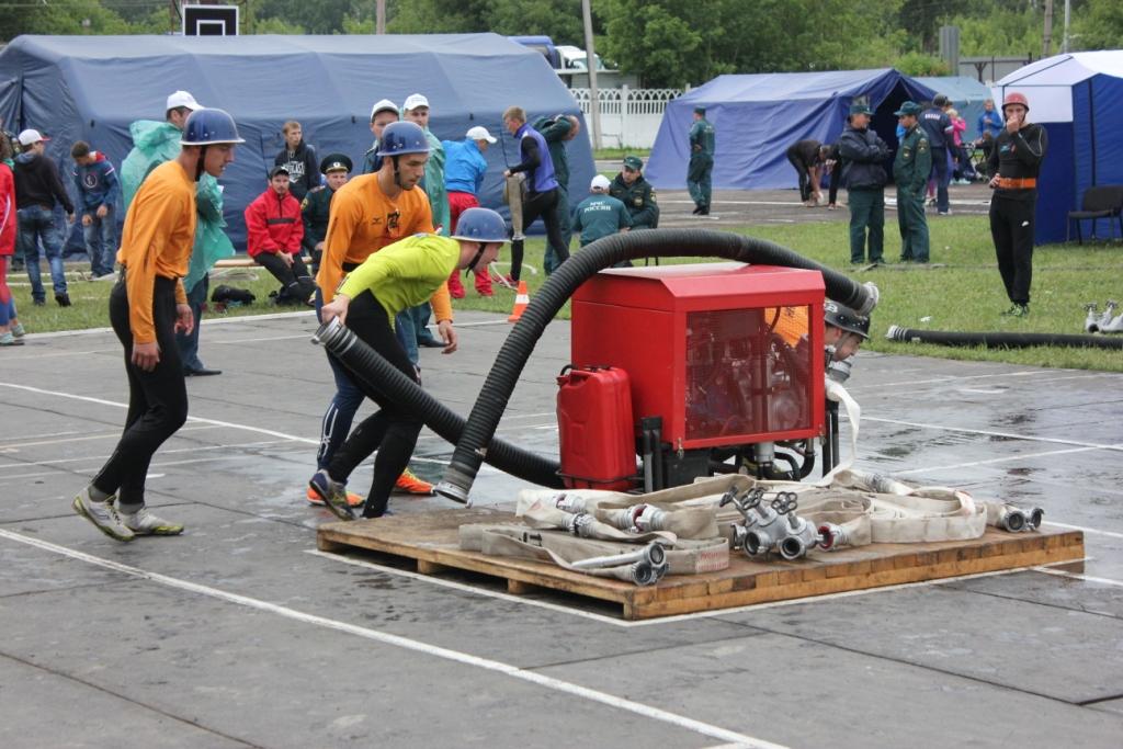 XXIV Чемпионат Центрального регионального центра МЧС России и первенство ВДПО по пожарно-прикладному спорту