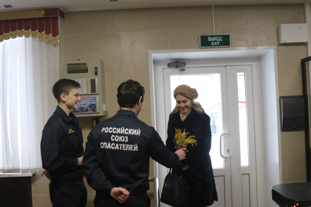 Международный женский день - 8 марта в Главном управлении МЧС России по Рязанской области