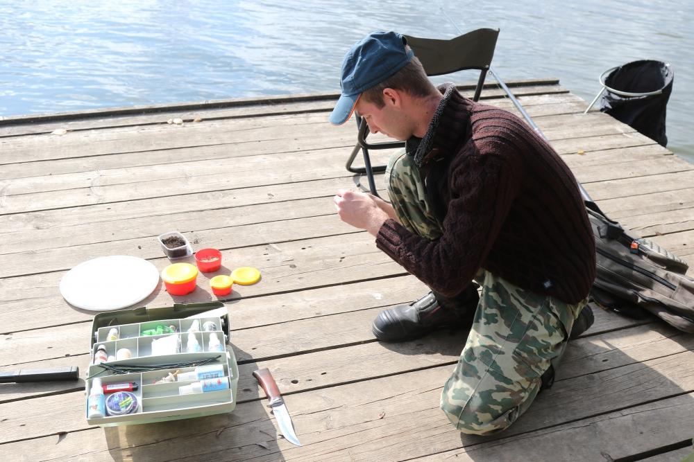 Соревнования по рыбной ловле поплавочной удочкой среди структурных и подчиненных подразделений Главного  управления МЧС России по Рязанской области